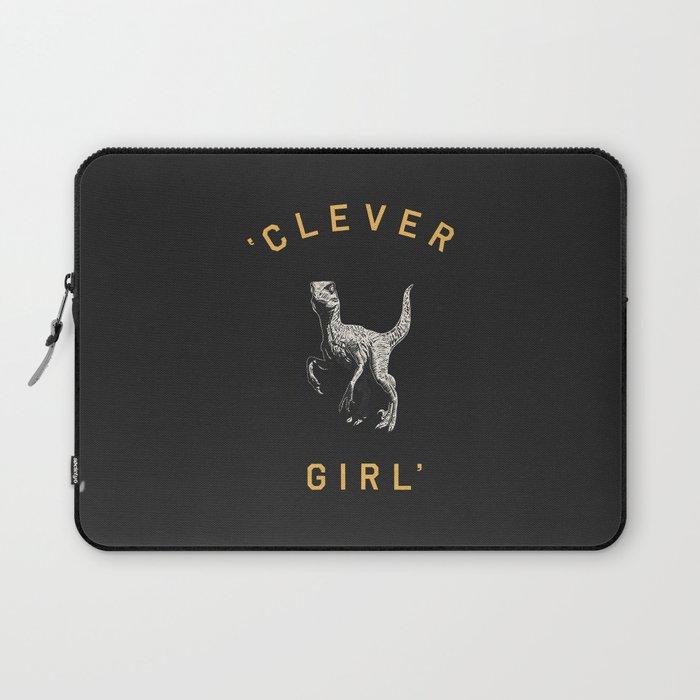 Clever Girl (Dark) Laptop Sleeve