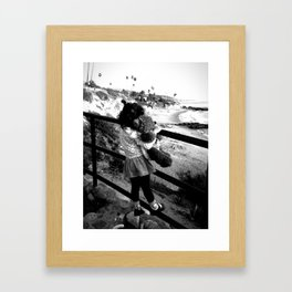 Ocean View Framed Art Print