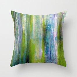 Splash of Lime Throw Pillow