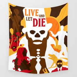 James Bond Golden Era Series :: Live and Let Die Wall Tapestry