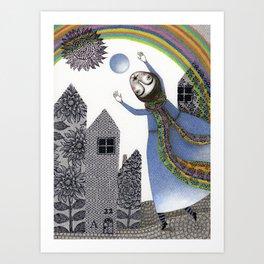 Rainbow Mine (2) Art Print