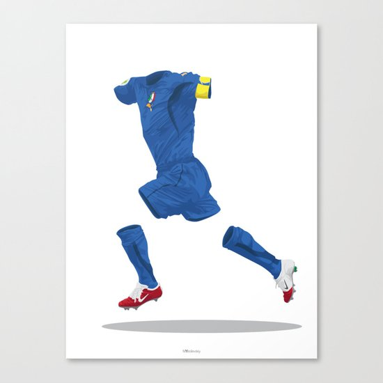 Italy 2006 - World Cup Winners Canvas Print