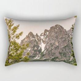 Grand Teton National Park - Wanderlust Adventure Rectangular Pillow