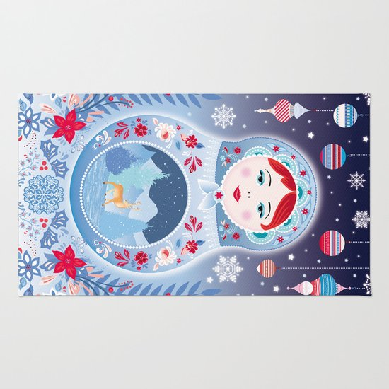 Our Lady of Winter Rug