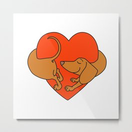 Houd of Love Metal Print