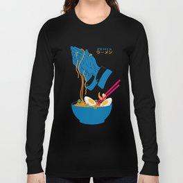 Delicious Daily Ramen Long Sleeve T-shirt