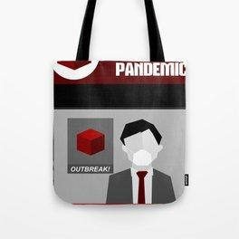 Pandemic - Red Tote Bag