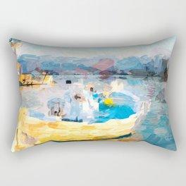 Fischerboot Rectangular Pillow