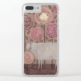 Sleeping beauty Clear iPhone Case