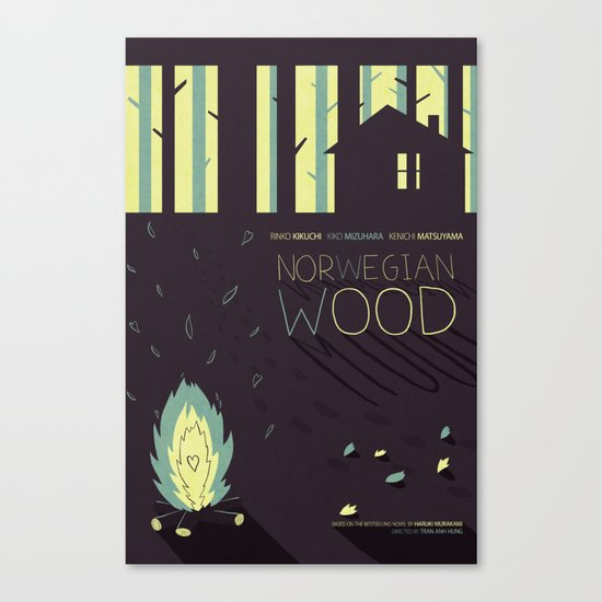 Norwegian Wood Canvas Print