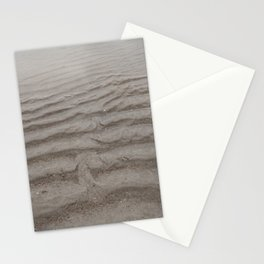 Ripples of Sand at the Shore Stationery Cards