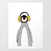 Edwardo, The Penguin Art Print