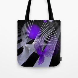 go violet -10- Tote Bag