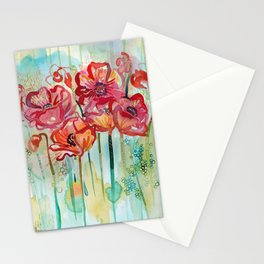 River Poppies Stationery Cards