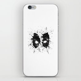 Dead Pool Eyes Splash iPhone Skin