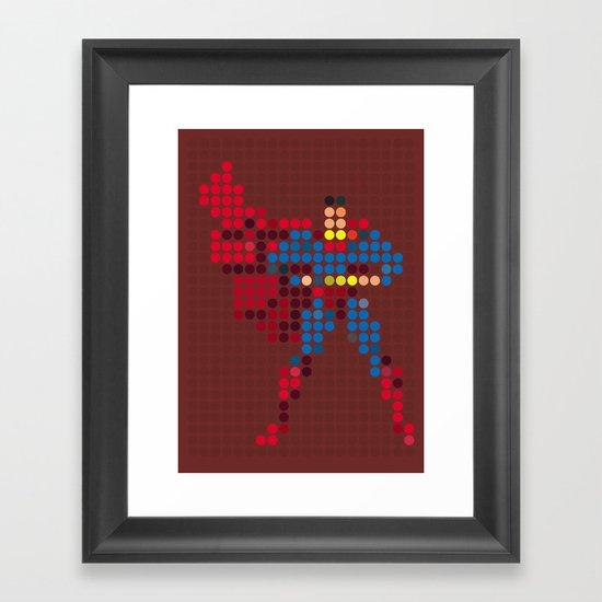 Mr Super Framed Art Print