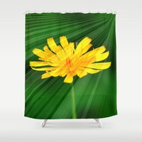 shining Shower Curtains featuring Shining through.... by Cherie DeBevoise