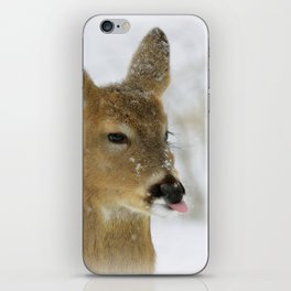 CATCHING SNOWFLAKES  iPhone Skin