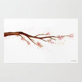 Cherry Tree Branch Rug