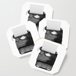 typewriter Coaster