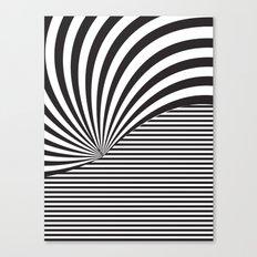 Optical Game 8 Canvas Print