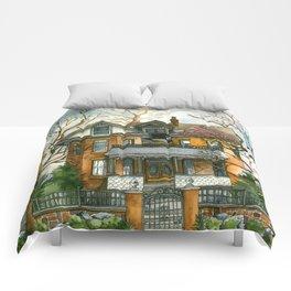 Stormy Skies Comforters
