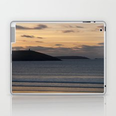 Evening Skies Over Polzeath Laptop & iPad Skin