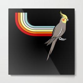 Paradise Bird for Bird Day Bird Watching Fun Pun Metal Print