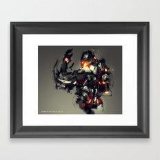 Ultron Speedpaint Fan Art Framed Art Print