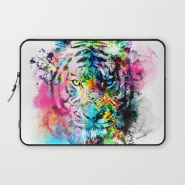 colorful tiger Laptop Sleeve