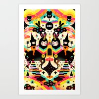 high Art Prints featuring Flying High by Muxxi