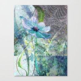 Blue princess Canvas Print