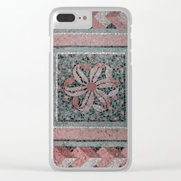 Architectual Mosaic Clear iPhone Case