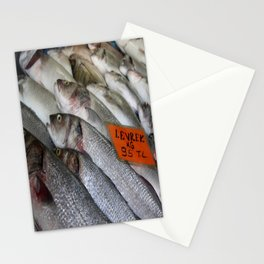 Freshwater Perch for Sale Stationery Cards