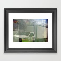 Don't Give Up, Never Give In Framed Art Print