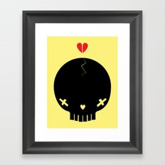 HEART BREAKER - ed. fact Framed Art Print