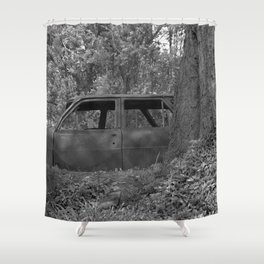 Back to start Shower Curtain