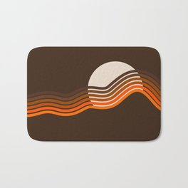 Sundown Stripes Bath Mat