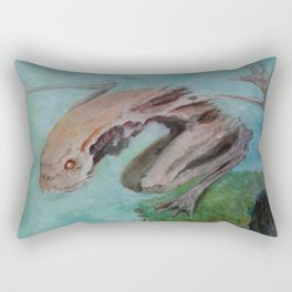Into the Abyss Rectangular Pillow