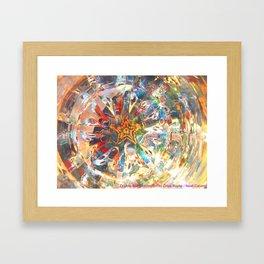 Double-Star Celebration Framed Art Print