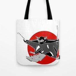 Flying (ninja) Squirrel Tote Bag