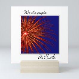 We the people Mini Art Print