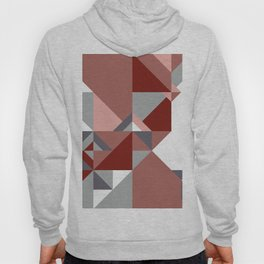 Triangle Shapes Deco Hoody
