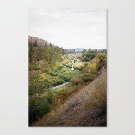 SPOKANE SEPTEMBER Canvas Print