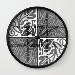 Whisper Tundora Wall Clock