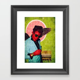 The Piano Has Been Drinking Framed Art Print
