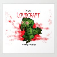 My Little Lovecraft Art Print