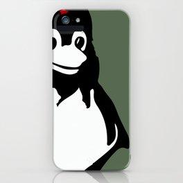 Linux tux Penguin Che guevara  iPhone Case