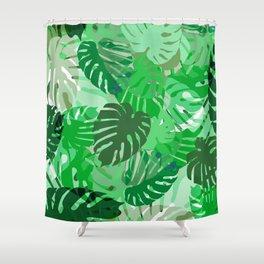 Emerald Jungle Shower Curtain