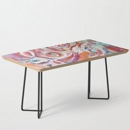 Love Grafitti Coffee Table